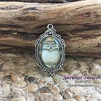Hootie - Owl Pendant Necklace