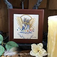 Hope - Wooden Frame Art Tile