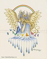 Hope - Angel Art Print