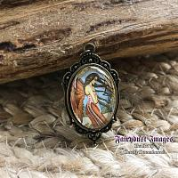 If Only They Were Dragons - Angel Pendant