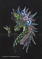 Looking Good - Limited Edition Dragon Art Print