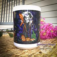 Moonlite Magic - Halloween Fairy Coffee Mug
