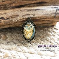 Mother Earth - Owl Pendant
