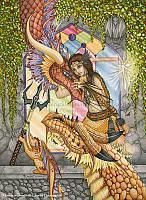 Mother of Dragons - Fantasy Art Print