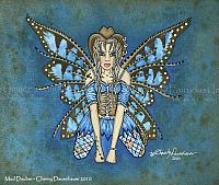 Mud Dauber - Cowgirl Fairy Art Print