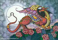 Mufasa - Red Dragon Art Print