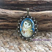My Feathered Friend - Owl - Fancy Pendant Necklace