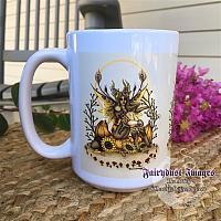 Pumpkin - Autumn Fairy Coffee Mug