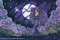 Raining Love - Angel Art Print