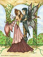 Romantic Moment - Married Fairy Art Print
