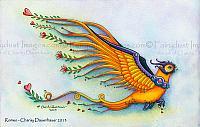 Romeo - Fantasy Bird Art Print
