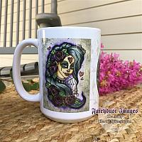 Spider Bite - Sugar Skull Coffee Mug