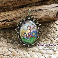 Spring Blossom - Fancy Fairy Pendant - Necklace