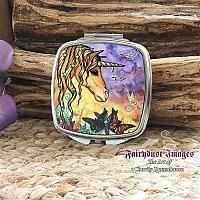 Spirit - Unicorn Compact Mirror