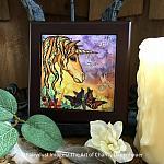 Spirit - Wooden Framed Art Tile