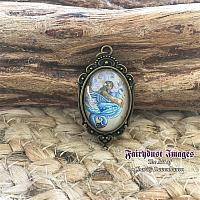 Spirit of the Sea - Mermaid and Seahorse - Pendant