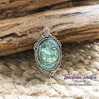 Star Dancer - Circular Dragon Pendant Necklace