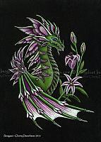 Stargazer - Limited Edition Dragon Art Print