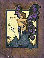 Starlit - Good Luck Fairy Art Print