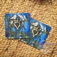 Summer Nights - Moth Fairy Coaster
