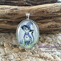Switch - Cameo Pendant Necklace