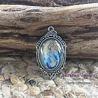 Tentacles - Mermaid and Jellyfish - Pendant