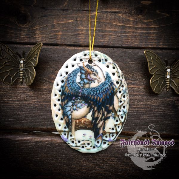 The Beast - Blue Dragon Ornament