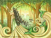 Beautiful Distraction - Fairy Elf Art Print