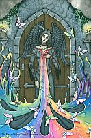 The Beauty Within - Judge Not Angel Art Print