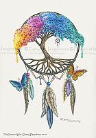The Dream of Life - Fantasy Art Print