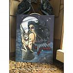The Night Keeper - Original Watercolor Painting
