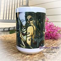 The Night Keeper - Day of the Dead Coffee Mug