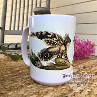 Feathered Fin - Mermaid Ceramic Coffee Mug