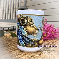 Thee Encounter - Lion and Fairy Coffee Mug