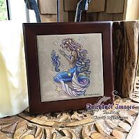 Tiny Treasures - Wooden Frame Art Tile