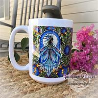 Tropical Dream - Dragonfly Fairy Coffee Mug