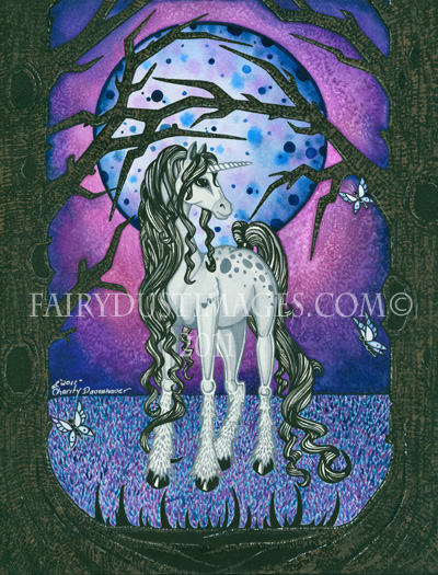 Unicorn Dreams - Hand Embellished Limited Edition Fine Art Print