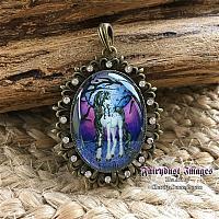Unicorn Dreams - Fancy Pendant Necklace