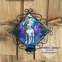 Unicorn Dreams - Candle Sconce