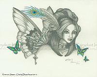 Victorian Steam - Steampunk Fairy Art Print
