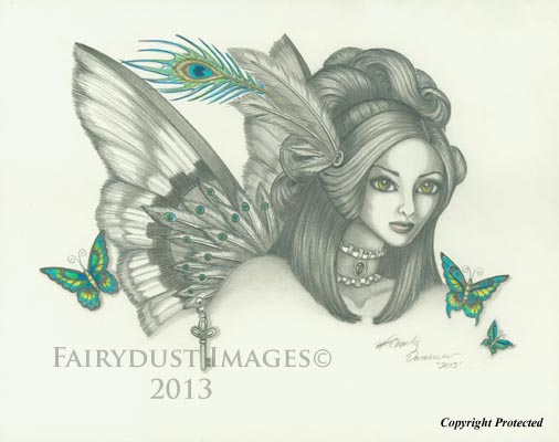 Victorian Steam - Steampunk Fairy Art Print