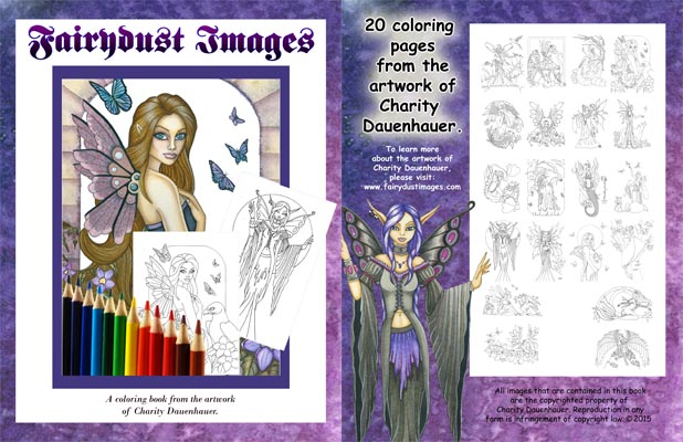 Fairydust Images 1st Coloring Book