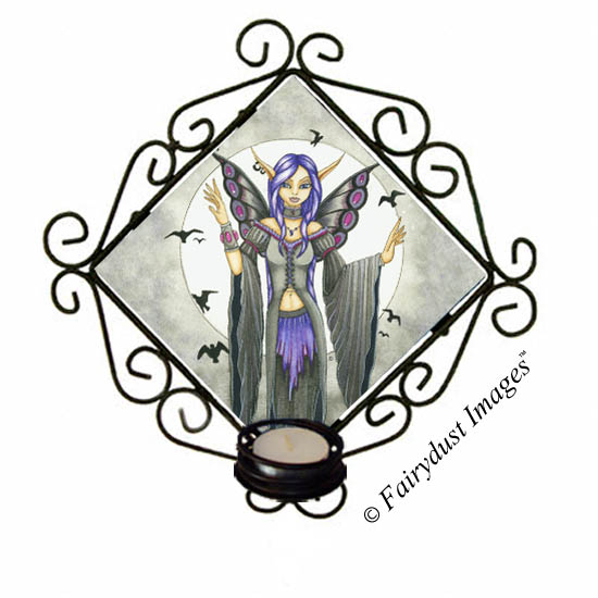 Destiny - Fairy Candle Sconce