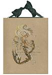 Mer-Meow - Cat Mermaid Ceramic Tile