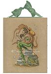 The Hug - Mermaid and Octopus Ceramic Art Tile