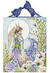 The Secret Garden - Angel and Dragon Ceramic Art Tile