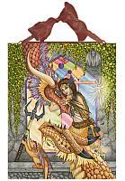 Mother of Dragons - Ceramic Art Plaque