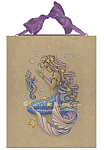 Tiny Treasures - Mermaid and Seahorse Ceramic Tile