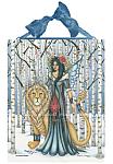 Aspen - Fairy and Lion Ceramic Art Tile