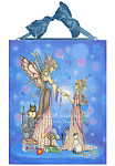A Mothers Gift -  Fairy Mom and Daughter Ceramic Art Tile